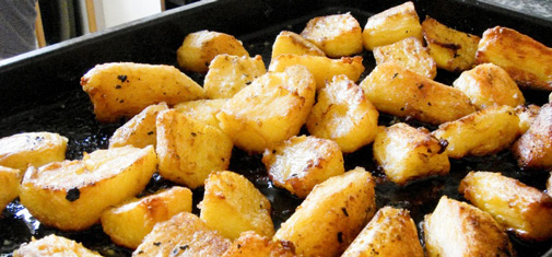 The Perfect Roast Tatties